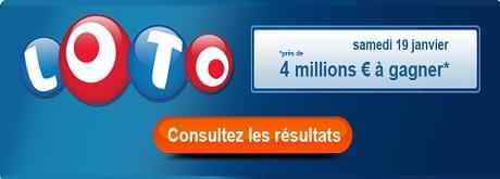 resultat loto 19 janvier